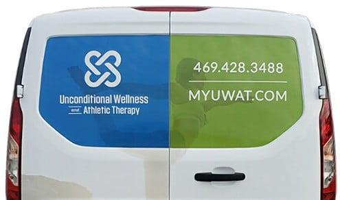 My UWAT Van Back Side